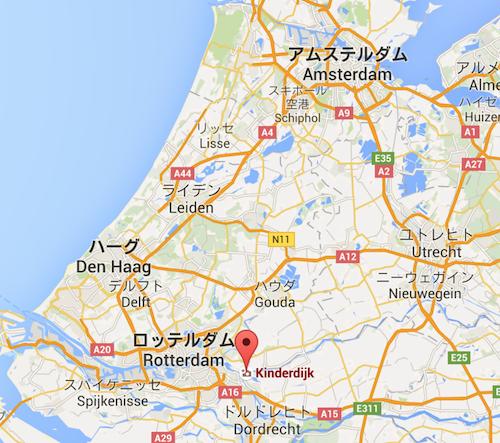 map_kinderdijk